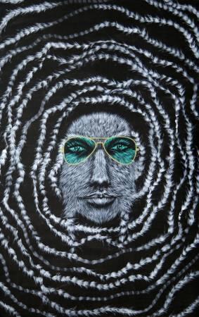 09-Elnaz_Farajollahi-From_Reading_The_Stars_Series-Acrylic_on_canvas-200X130_cm-2011m